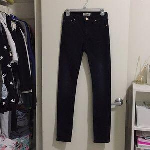 ACNE Black jeans, Used